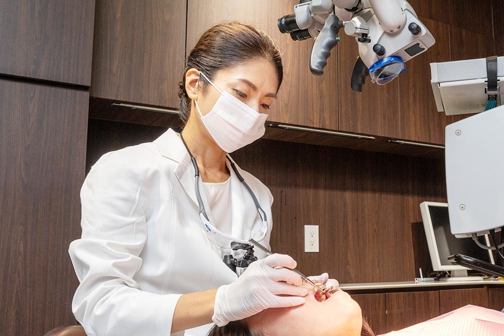 むし歯の治療